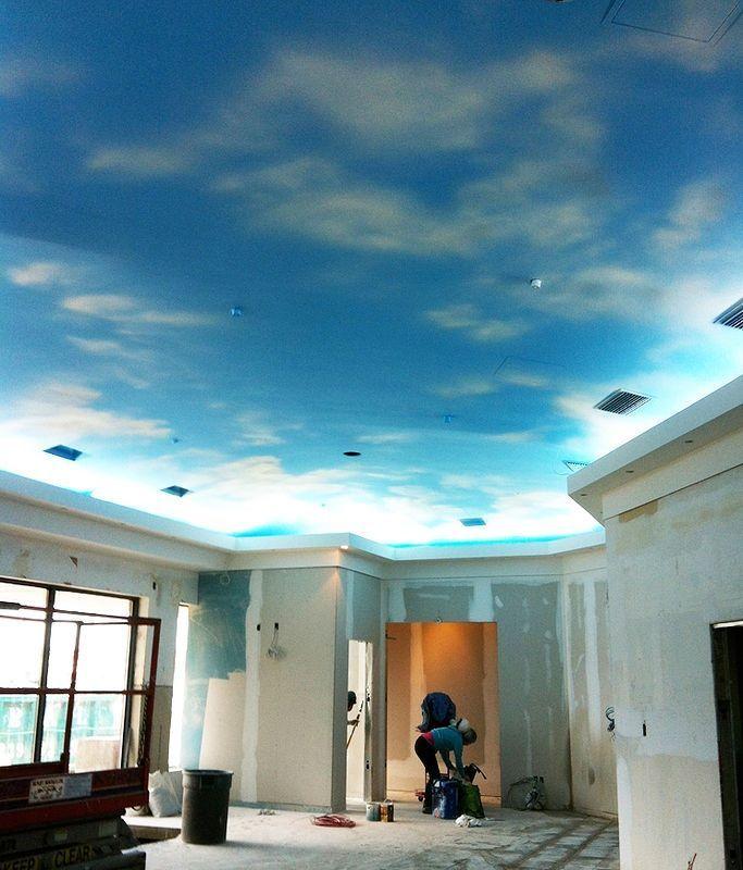 Painted Ceilings That Look Like Sky