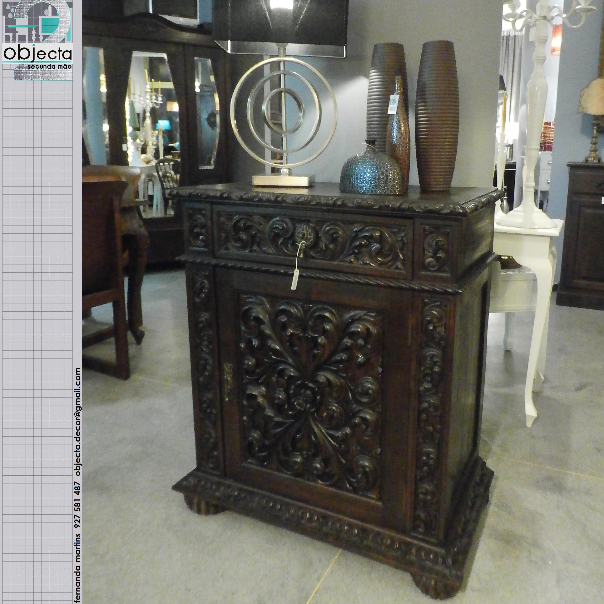 Armario Empotrado Sinonimo ~ MÓVEL APARADOR SAPATEIRA antigo, estilo Renascença, totalmente em madeira maciça móvel de