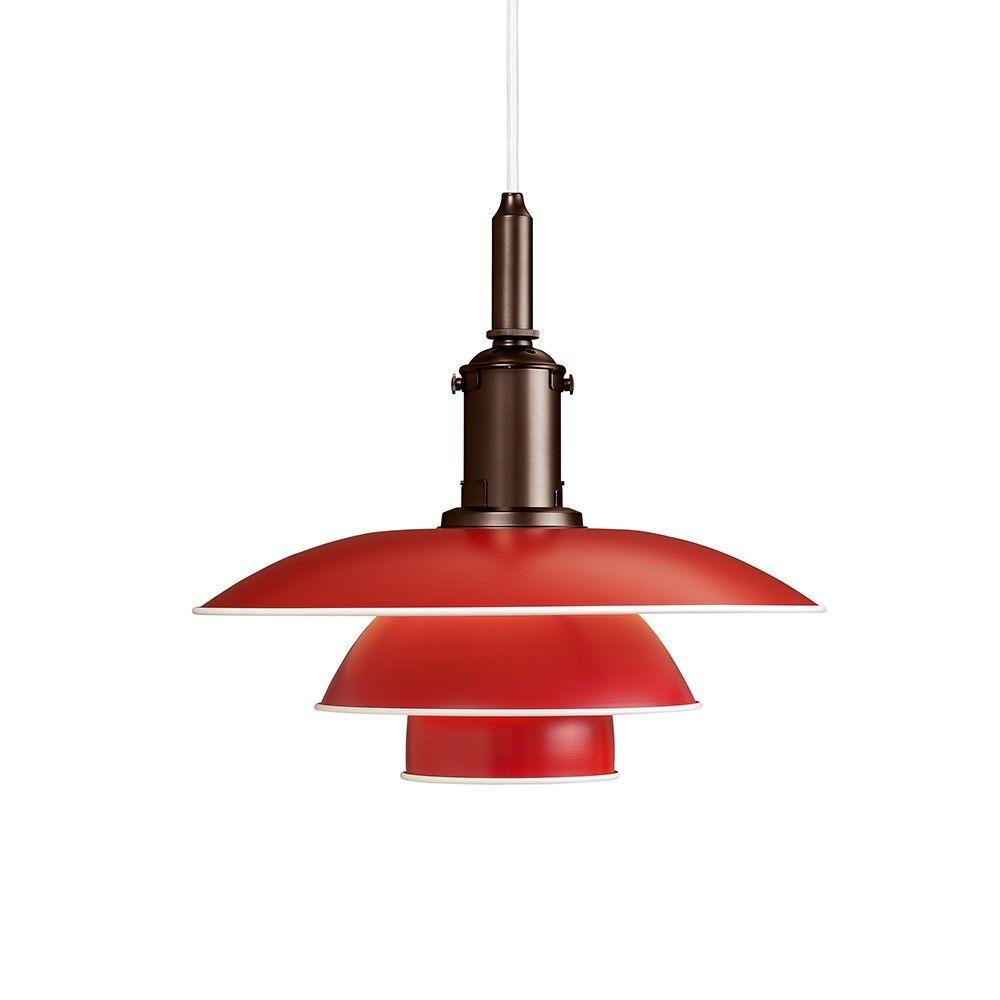 Louis Poulsen Ph 3 1 2 Pendelleuchte Red Mintroom De Louis Poulsen Mintroom Hangeleuchte Pendelleuchte Anhanger Lampen