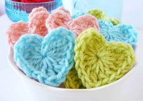 Crochet Heart Pattern Heart Patterns Free Crochet Heart Patterns
