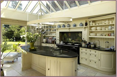 Orangery kitchen orangery is a room or sunroom with the for Orangery kitchen