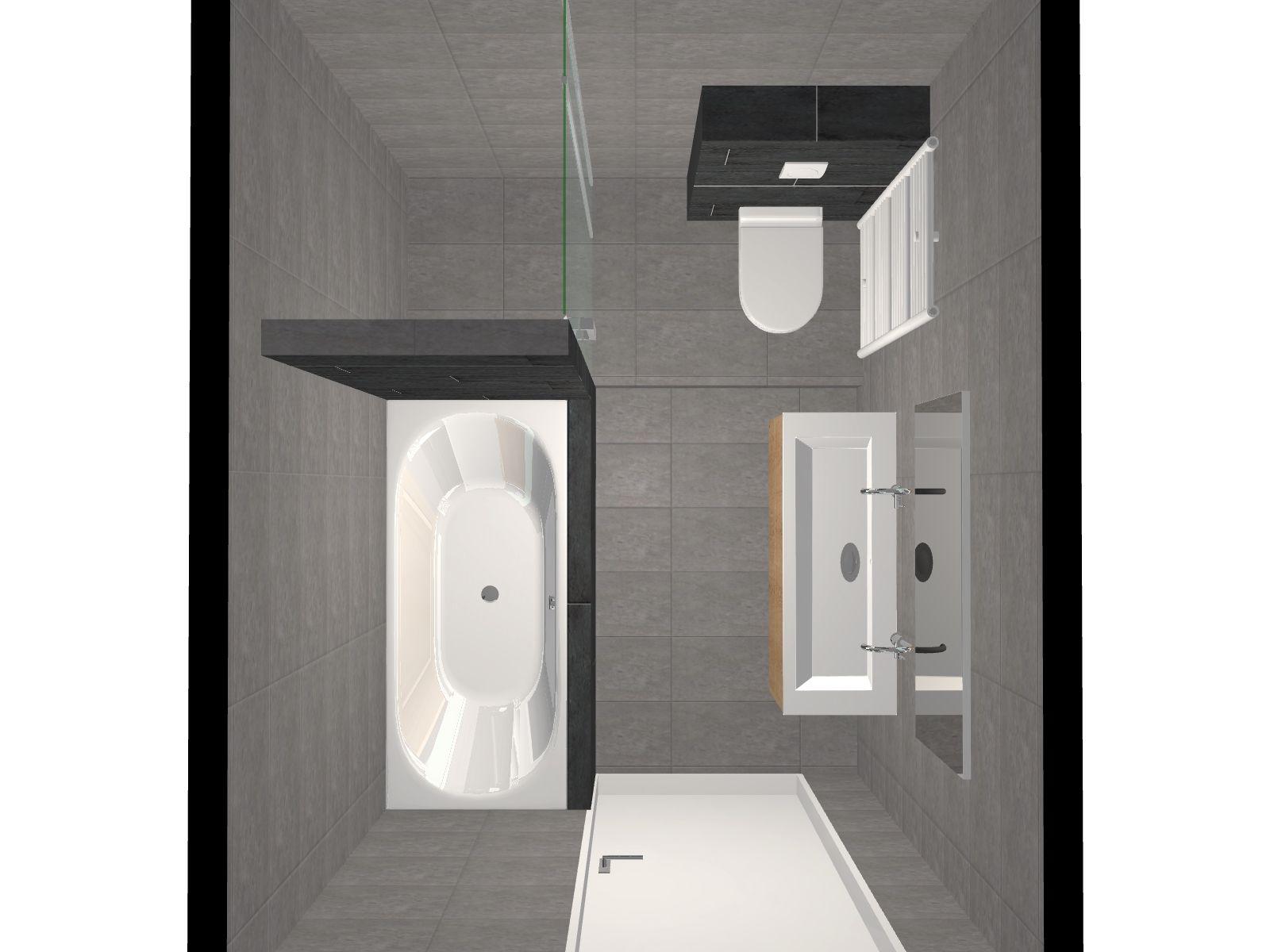 Vraag een gratis 3d ontwerp aan voor uw badkamer of toilet roos oostplein 17b - Wat kleur aan een badkamer ...