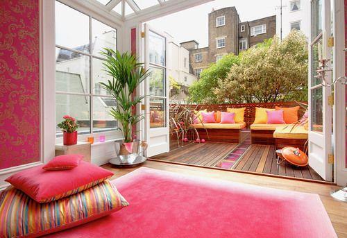 Pin de Banu Co en Salon Pinterest Terrazas, Decoración de - cortinas para terrazas