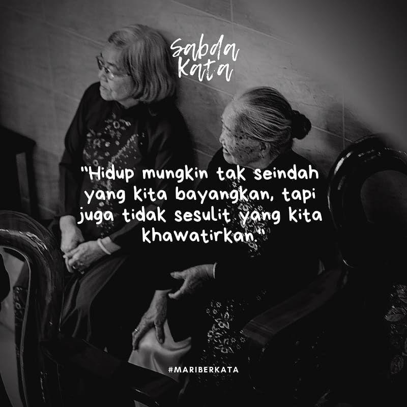 Santai Selow Aja Sabdakata Kata Quotes Puisi