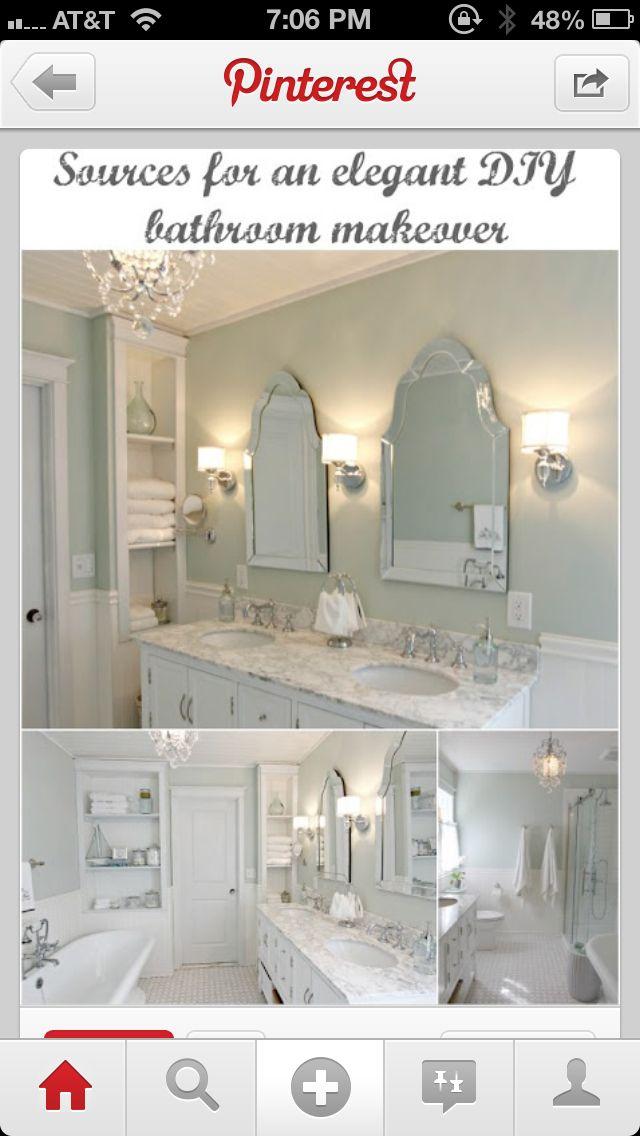 White mirror!!!❤