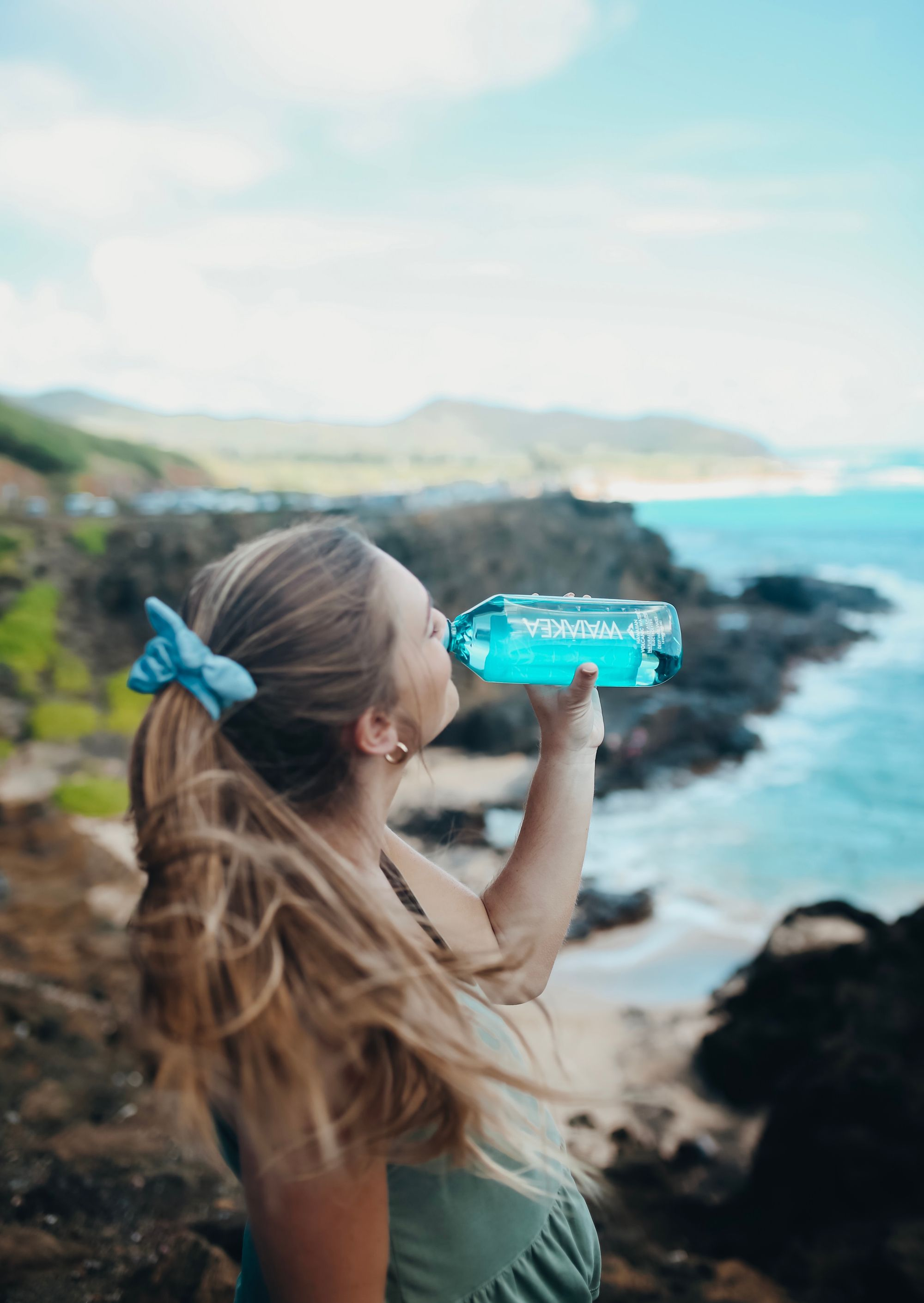 ONE FOR ONE. With each liter of Waiakea you buy, we donate