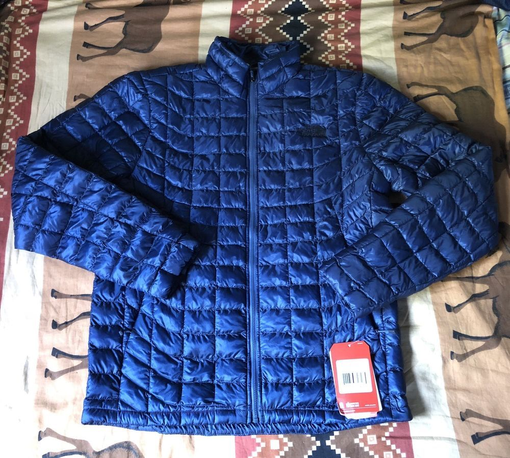 NEW THE NORTH FACE THERMOBALL FZ HDY MENS JACKET SIZE