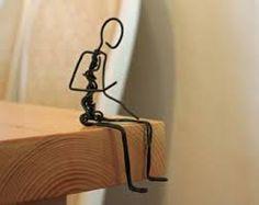 esculturas alambre - Buscar con Google