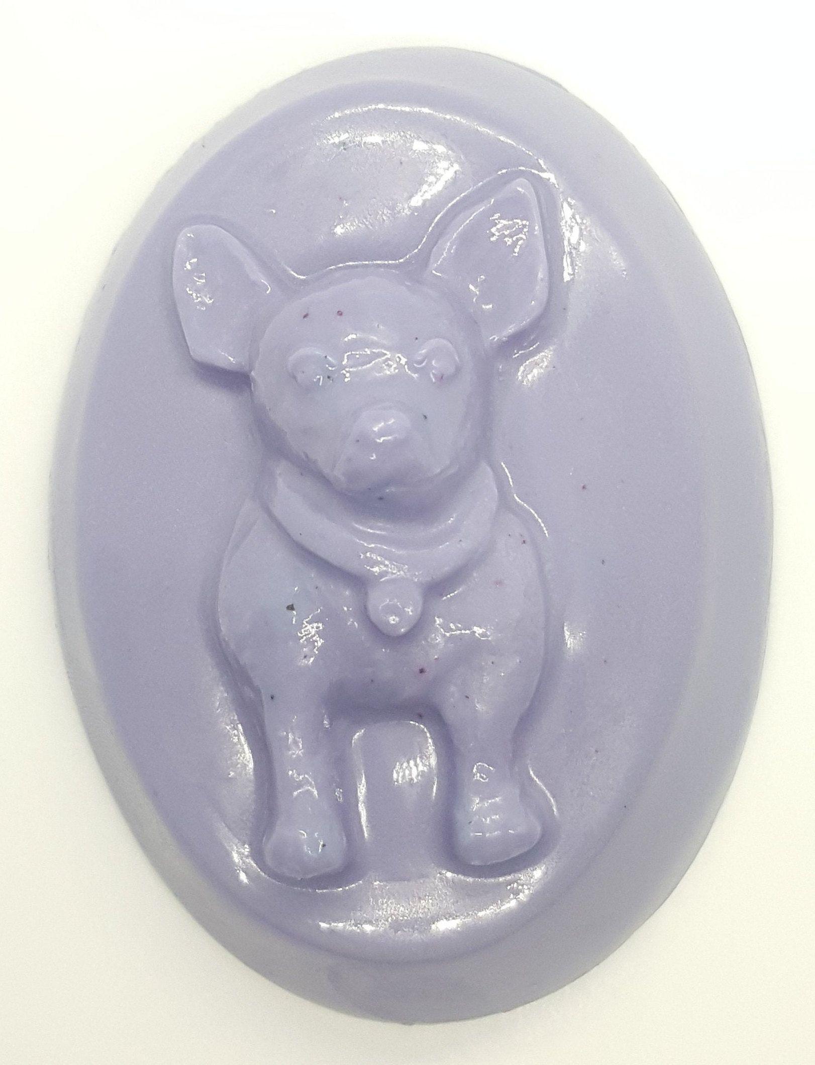 Französische Bulldogge Hunde Welpe Seife frenchie Gast