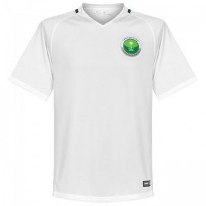online store b902d f9479 Saudi Arabia National Team 2016-17 Season Home White Soccer ...