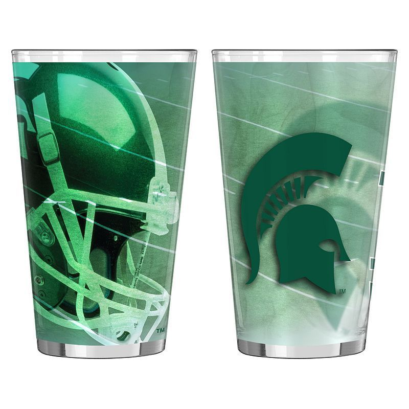 Michigan State Spartans 2-pc. Pint Glass Set, Multicolor