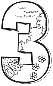 Image result for number clipart black and white creation