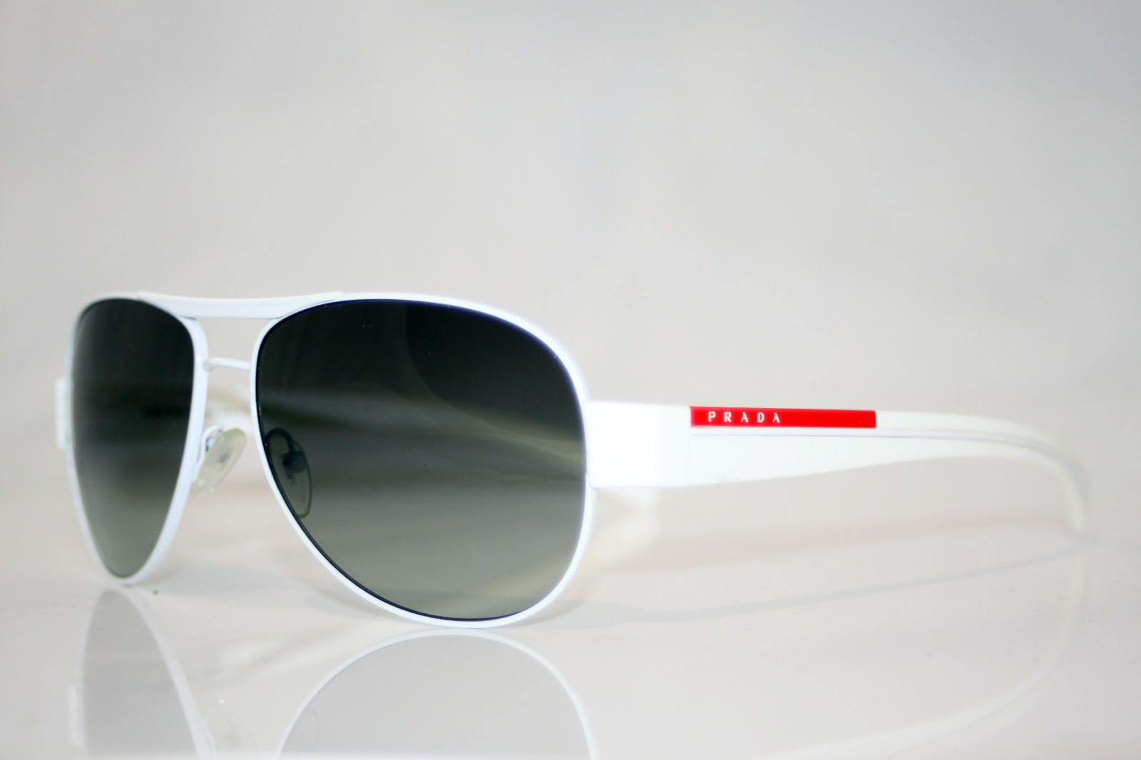 19c264b161397 White Prada Sunglasses Men