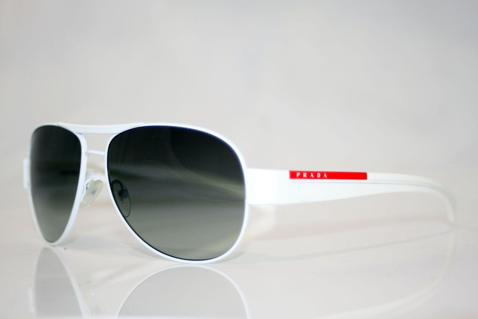 d508eb9312e8 PRADA Mens Designer White Sunglasses Model SPS 51L