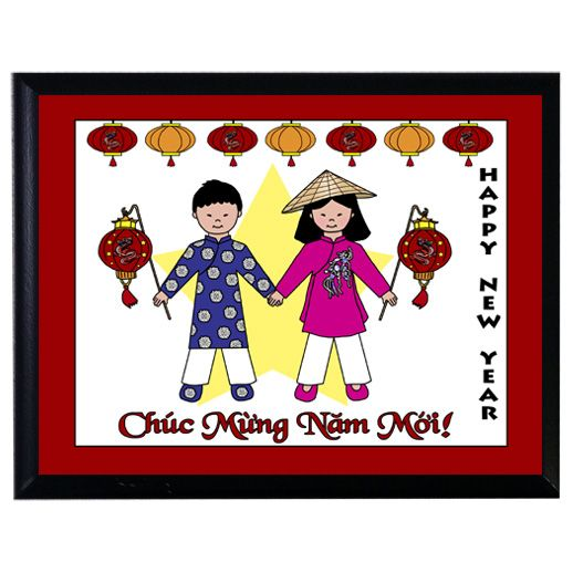 vietnamese new year or tet decoration plaque chinese new year pinterest decoration. Black Bedroom Furniture Sets. Home Design Ideas
