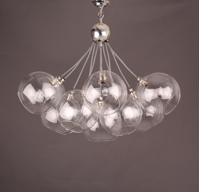 5 10 15 Globe Jason Miller Modo Chandelier Light Lamp Pendant Free Bulbs