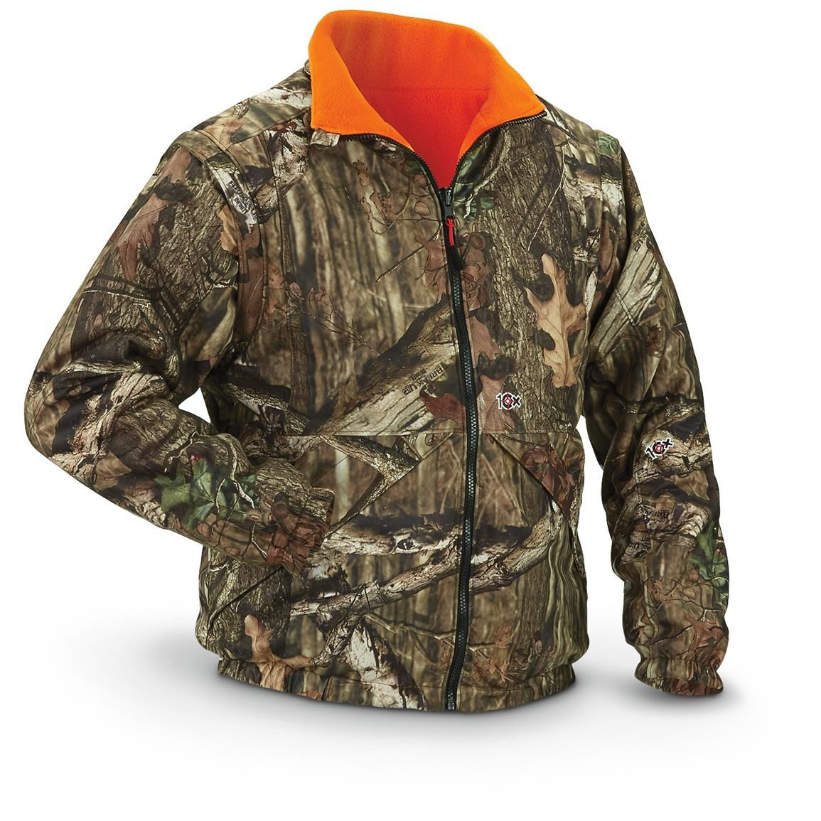 walls 10x men s reversible inner systems camo jacket on walls hunting coveralls id=19091