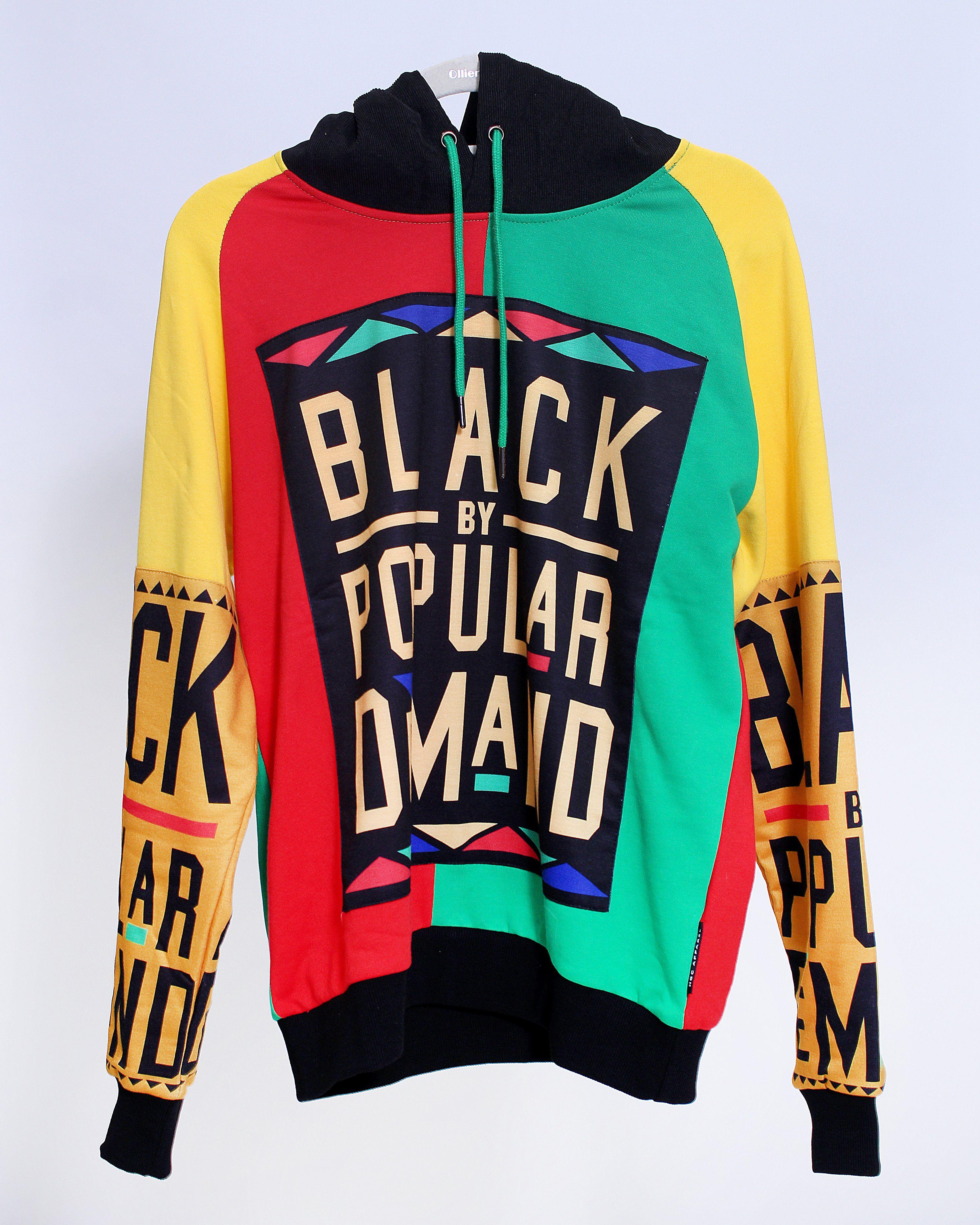 264d583177e7 BLACK BY POPULAR DEMAND® HOMAGE COLLECTION Unisex Hoodie Sweatshirt ...