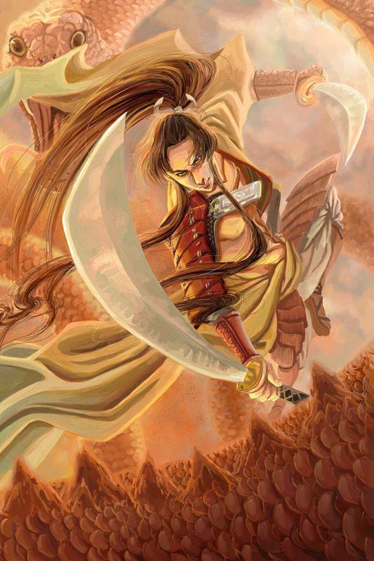Susanoo Also Known As Takehaya Susanoo No Mikoto Is The Shinto