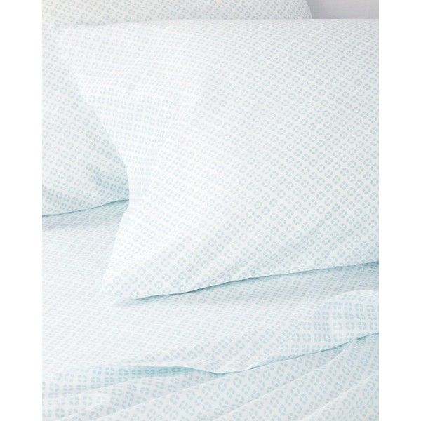 Serena U0026 Lily Aqua Cut Circle Sheet Set California King ($258) ❤ Liked On  Polyvore Featuring Home, Bed U0026 Bath, Bedding, Bed Sheets, Aqua Blue Sheet  Set, ...