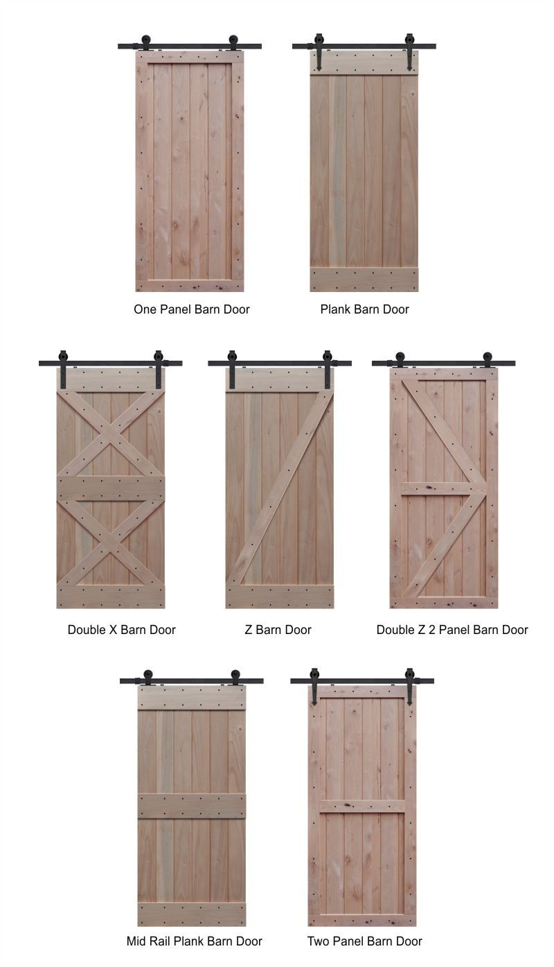 Knotty Alder Barn Door Styles Barn Door Designs Diy Barn Door Farmhouse Doors