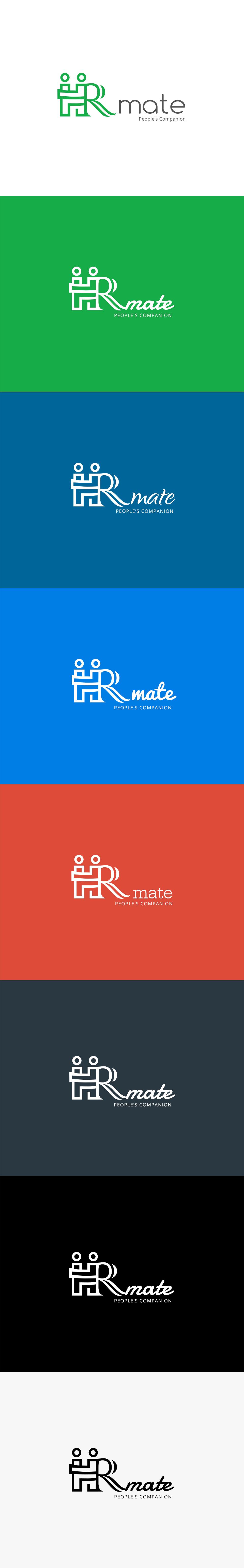 HR mate Logo - Created by: Hariswebdesign, Haris Karat, Webdesigner, Creative Logo :: www.harisw.com