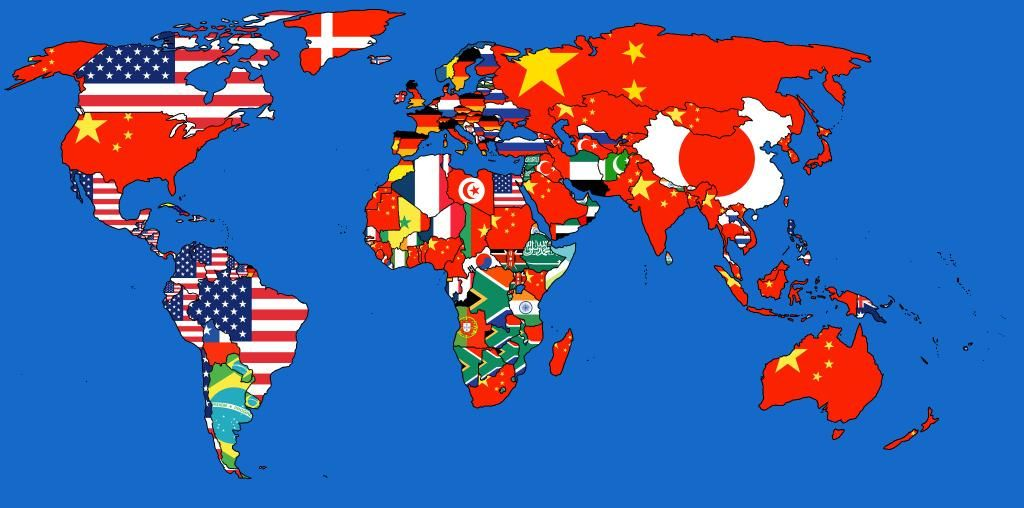 [who imports the most from whom] - via @brilliantmaps