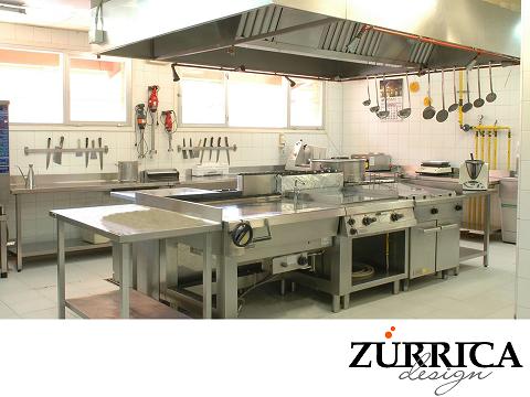 Las mejores cocinas industriales para que los equipos de for Cocinas industriales monterrey
