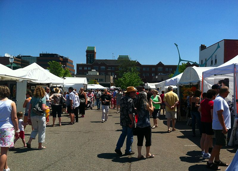 East Lansing Art Festival, 2012. It's like Pinterest LIVE!  :-)
