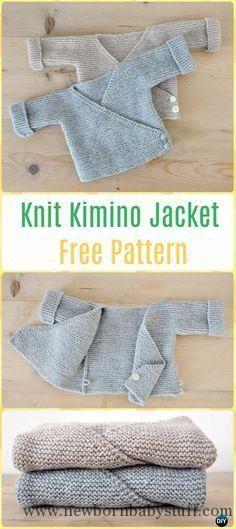 Baby Knitting Patterns Knit Baby Knit Kimono Jacket Free Pattern