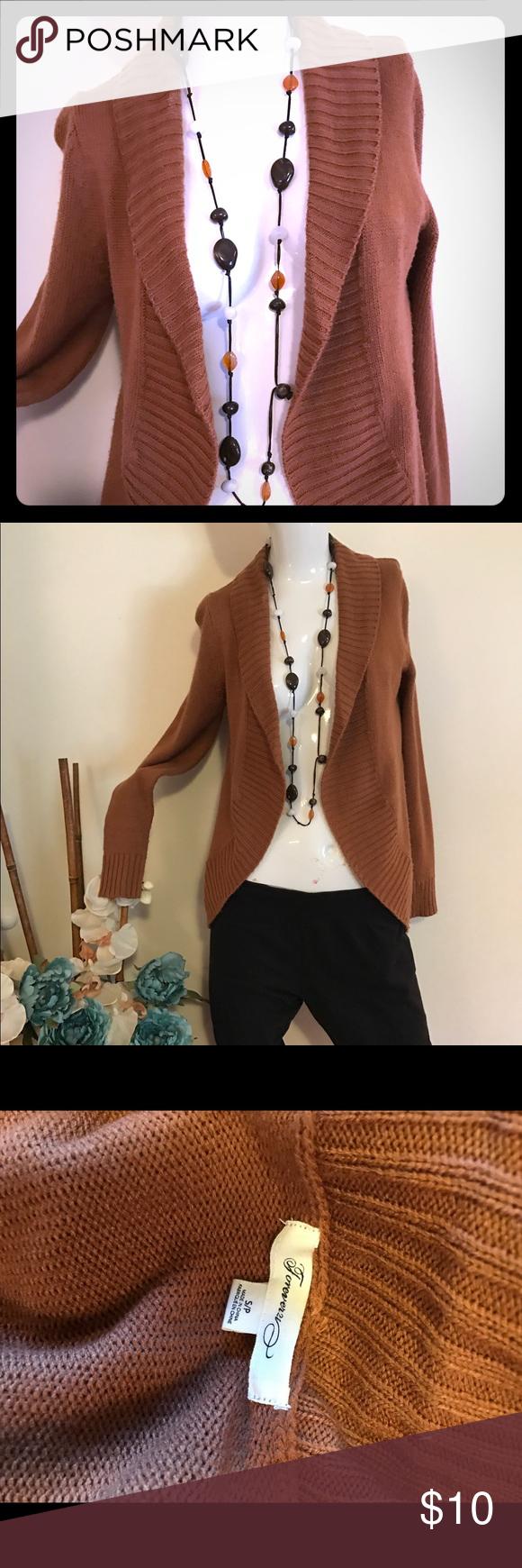 🎉🎉 flash sale! Tan brown cardigan