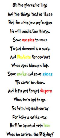 Uyema Family Matters: Dr. Seuss Baby Shower Gift Poem | My ...