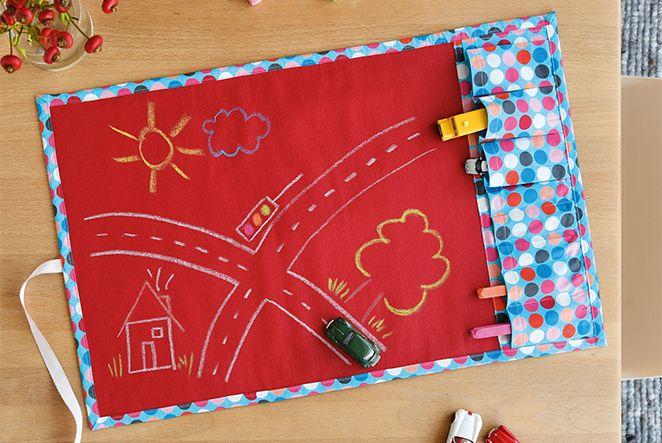 Spaß to Go: Spielteppich für Kinder nähen! | Sew pattern, Babies and ...
