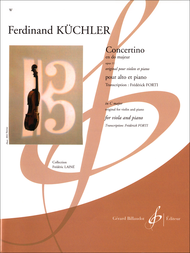 Concertino Sheet Music By Ferdinand Kuchler Sheet Music Plus