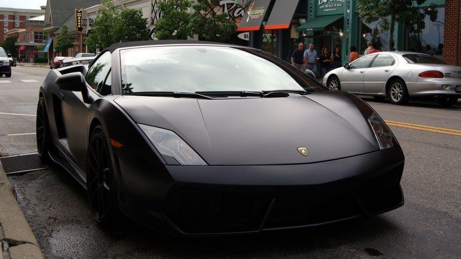 Black Lamborghini Hd Free Download Wallpapers Hd Wallpapers