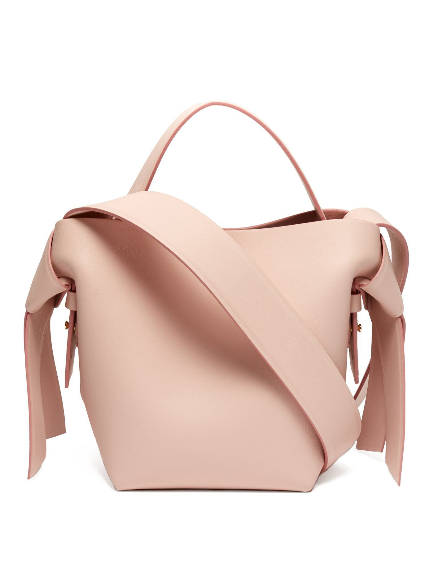 1065aed31d Musubi small leather bucket bag