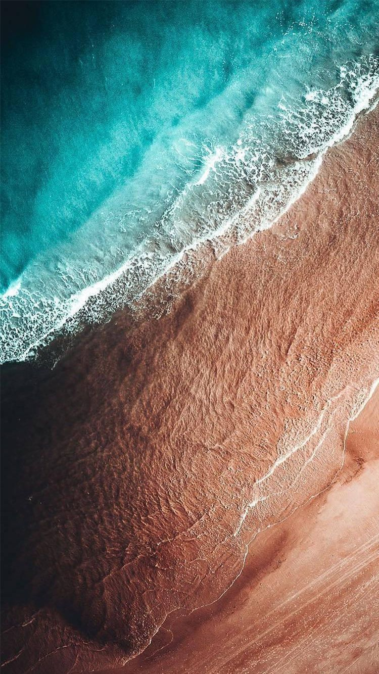 Iphone Satelitte Sea Beach Above Wallpaper Iphone Wallpaper Sea Iphone Wallpaper Landscape Ios 11 Wallpaper