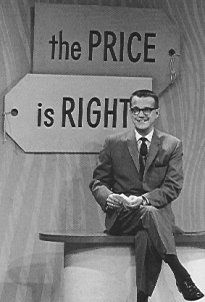 THE PRICE IS RIGHT - The original Price Is Right had two versions: a daytime version that aired five times a week and a weekly primetime version. The daytime version started in 1956 and ended in 1965; the nighttime version started in 1957 and ended in 1964. Both were a half-hour show hosted by Bill Cullen that aired on NBC until 1963, when the series began airing on ABC. While the series was broadcast in color while on NBC, the ABC version was black and white.