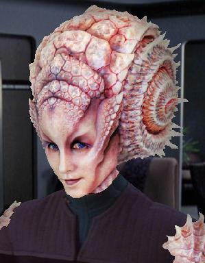 Natalia Race From Star Trek Beyond W X2f Shoulder Shells Unknown Alien Race Female Starfleet Medical Offi Star Trek Crew Evil Mermaids Star Trek Characters