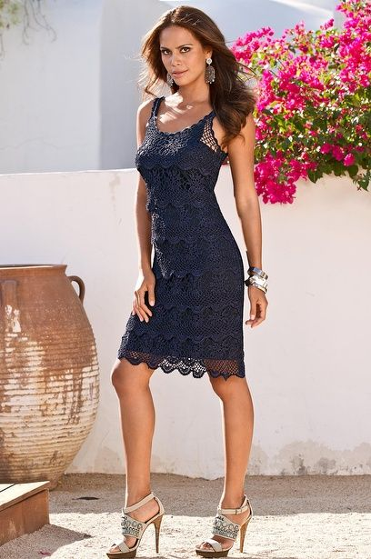 How to crochet a adult dress