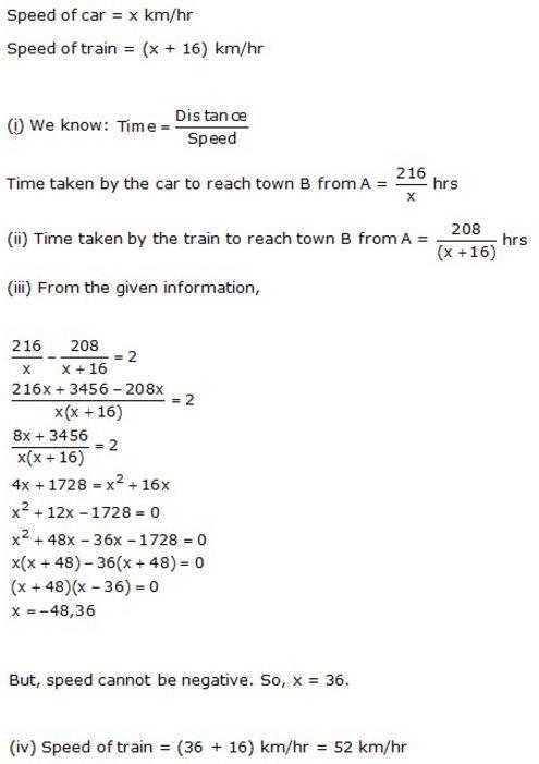 quadratic equations problem solving