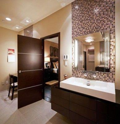 Muebles ba os modernos dise o de interiores ba os Diseno de interiores de banos modernos