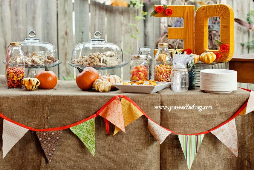 Decoration Ideas For Fall Party