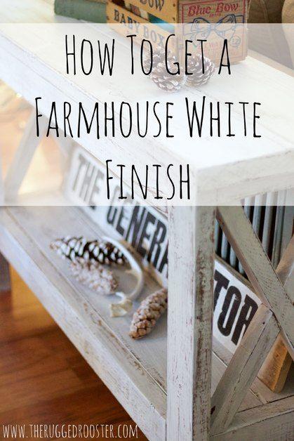 Photo of DIY [ Farmhouse Distressed White ] – Jessica Sara Morris