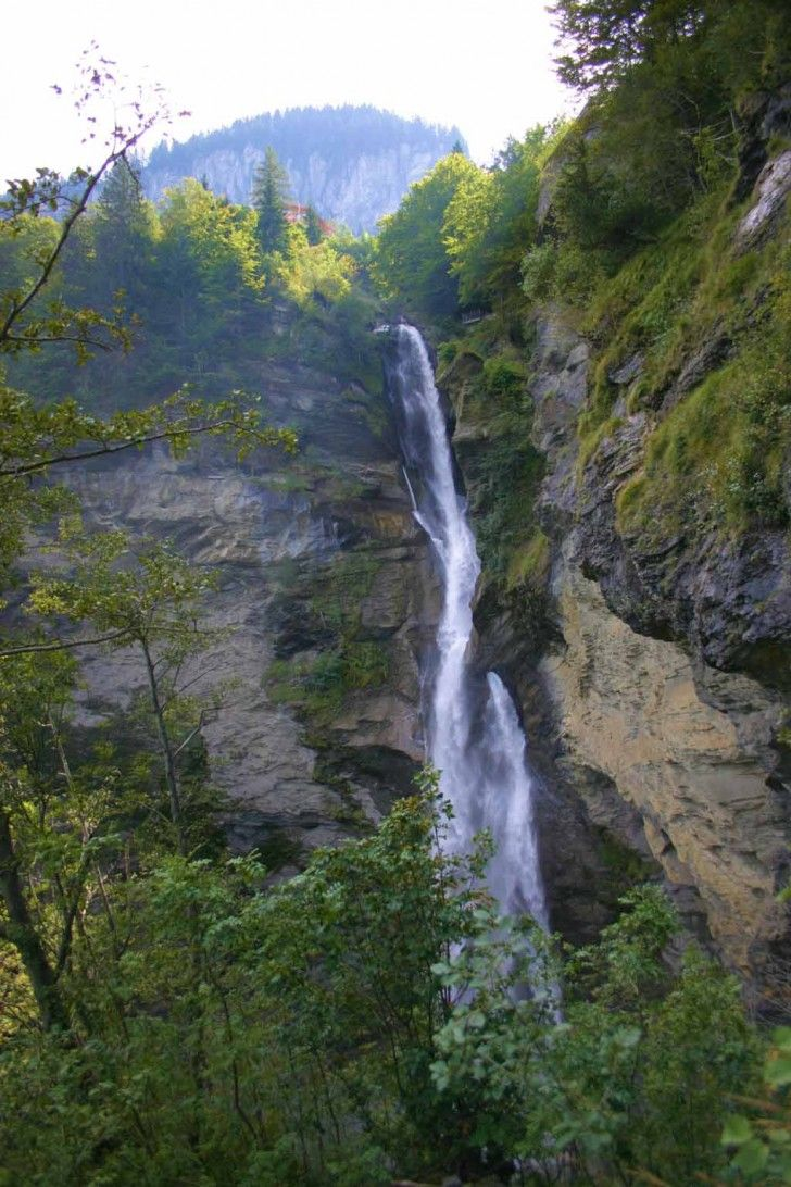 Reichenbach waterfall. Sights of Switzerland. Interesting facts about the waterfall 11