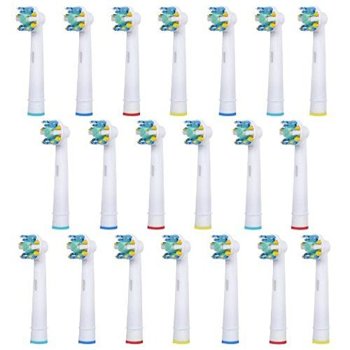 #Products are #brand new and manufacturer sealed. Not made by Oral B Type: EB25-A Pack: 4 pcs in one pack Compatibility: Triumph, Professional Care, Vitality, & A...