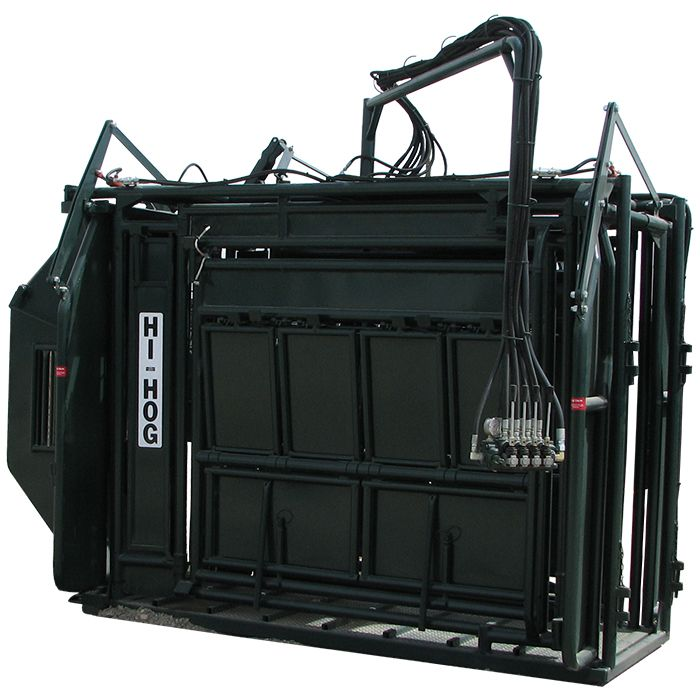 The Hi-Hog Hydraulic Bison Chute Is Designed To Safely And