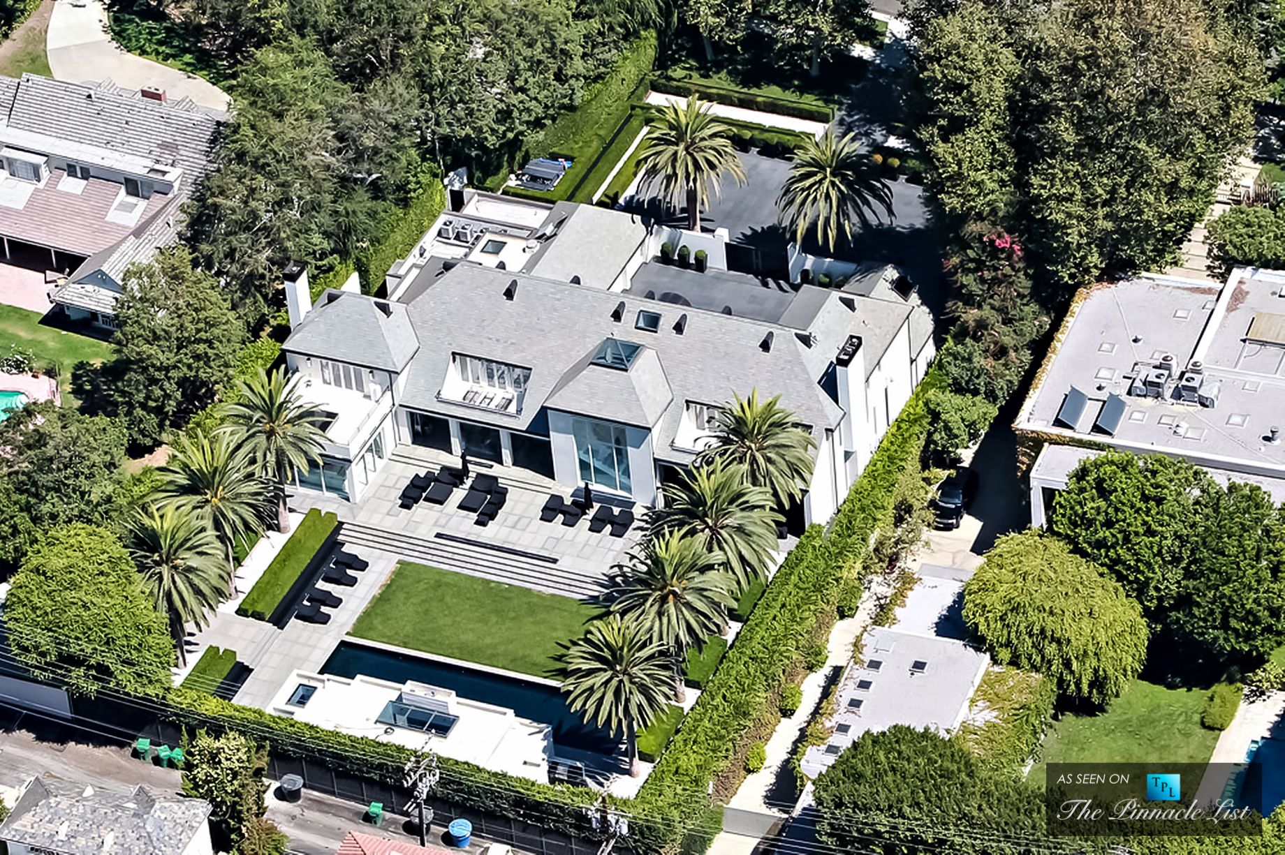 Simon Cowell Home 717 N Palm Drive Beverly Hills Ca 90210 Celebrity Houses Celebrity Mansions Mansions