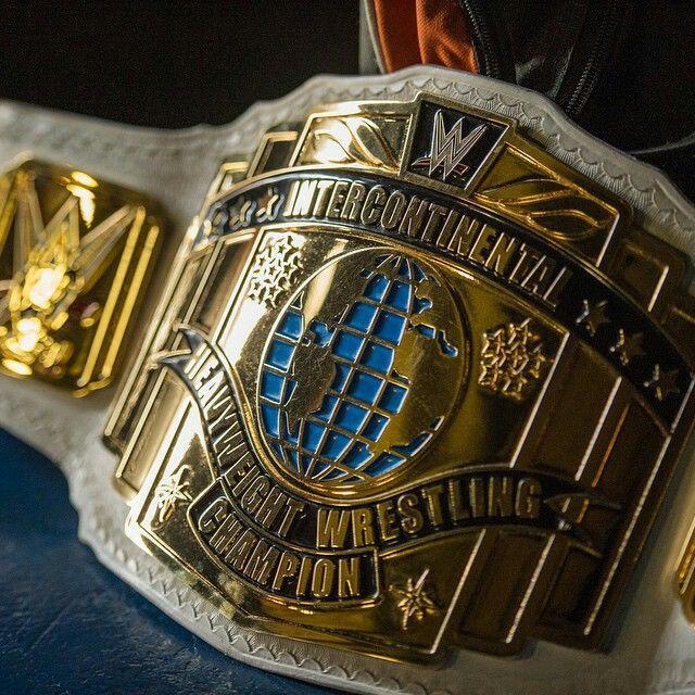 The WWE Intercontinental Championship. Wwe Intercontinental Championship, Wwe Championship Belts, Bruiser Brody,