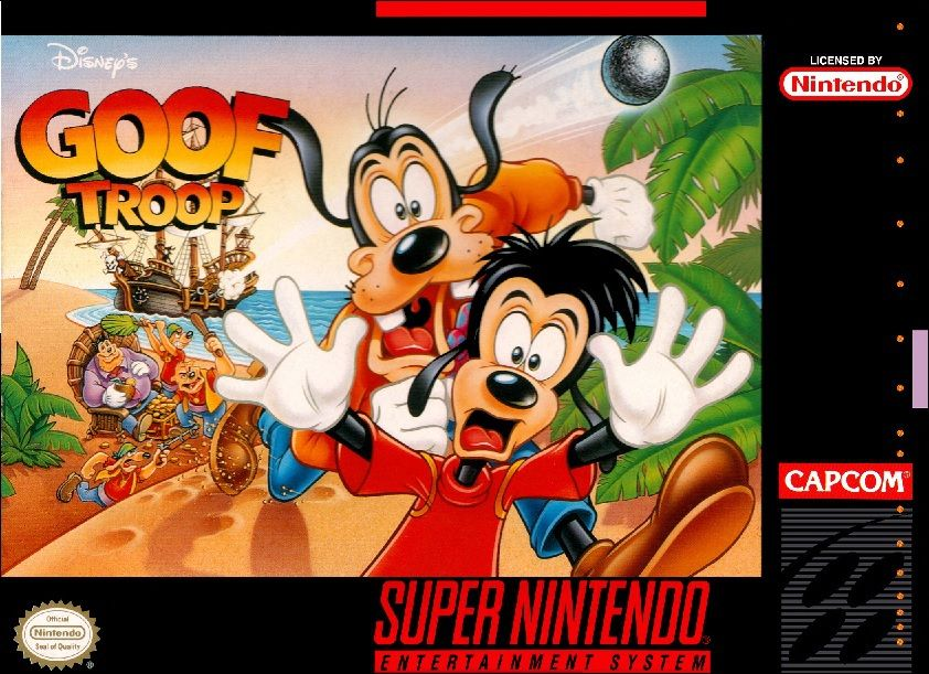 Goof Troop for Super Nintendo @ www.thegamingwarehouse.com/goof-troop-for-super-nintendo/